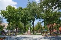 Pomnik M. Kajki w Parku Solidarności-1
